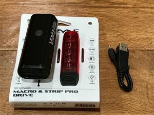 Lezyne Macro 600XL and Strip Drive Pro Drive LED Bike Light Combo- Brand New