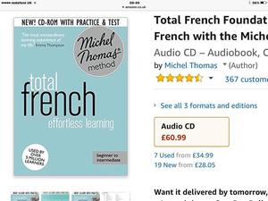 Michel Thomas Total French course