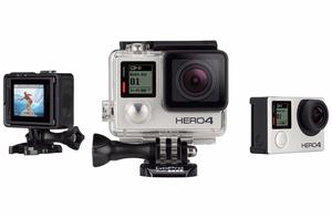 NEW GoPro HERO4 Silver Action Camera + Accessories
