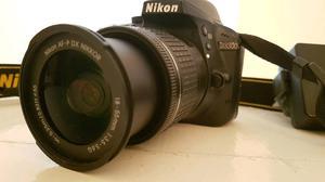 Nikon D DSLR Camera + Lens