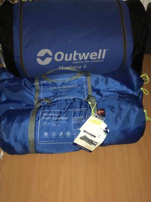 Outwell montana 6 tent plus extras
