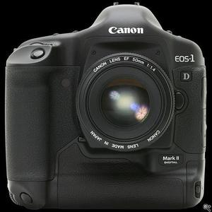 canon eos 1d mk2 camera with  is lens