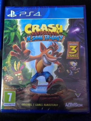 PS4 Crash Bandicoot - Bought as part of bundle but never opened £25