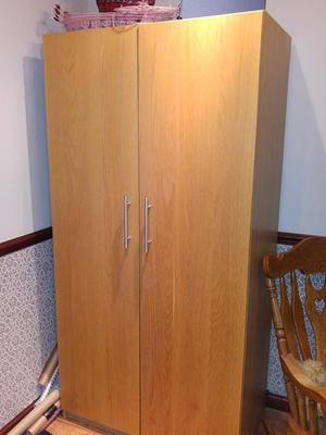 Pair of IKEA single wardrobes, or make double together