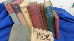 Vintage - Antique Joblot of 10 x books
