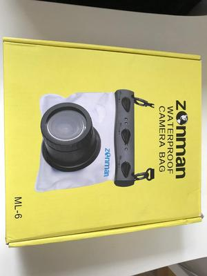 Zonman Camera Univeral Waterproof Underwater Housing Case Pouch Dry Bag