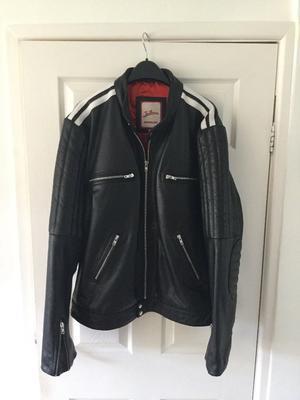 men's leather jacket by Joe Brown