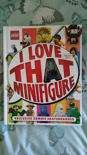 Brand new Lego book and minifigure