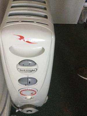 Delongi rapido heater (hardly used).