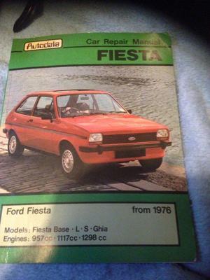 Ford Fiesta Car Repair Manual