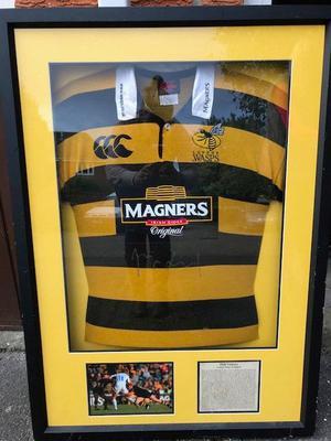 Framed Match Worn Rugby shirt