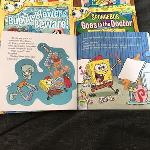 10 Spongebob books