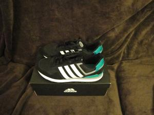Adidas Neo Label Black White Green Suede Mens Casual Shoes Trainers