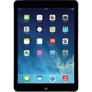 """Apple iPad Air 2 64GB, Wi-Fi, 9.7"""" Space Grey with Leather iPad case and two Screen Guards"""