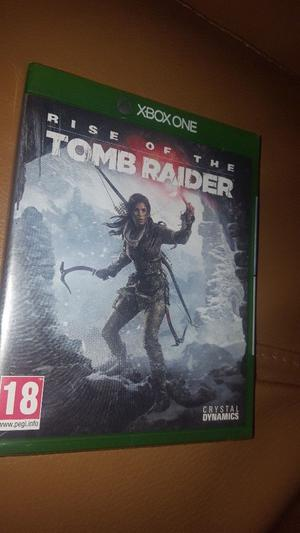 Brand new sealed xbox one dise of the tomb Raider