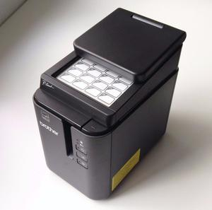 Brother PT-P950NW Wireless Thermal Label Printer + PA-TDU-003 Panel, 6 Tapes, PC, Phone, Wifi Print