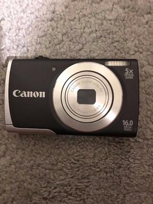 Canon PowerShot A Digital Camera 16 Mega Pixels, 5x Optical Zoom, Charger and 512MB Memory Card