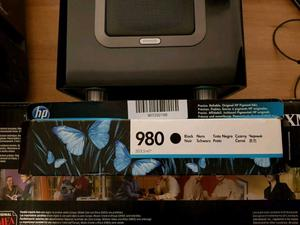 Genuine HP 980 Toner ink cartridge black Brand new
