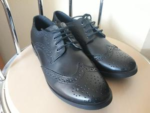 Girls Black School Shoes UK size 7