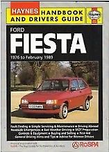 Haynes Handbook and Drivers Guide - Ford Fiesta  to February