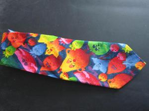 Highly colourful amusing tie