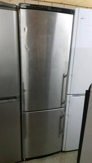 LIEBER 6.5 FT STAINLESS STEEL FRIDGE FREEZER WITH 3 MONTHS GUARANTEE