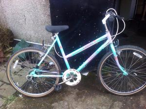 "Ladies bike adult, Raleigh Camaro 26"" wheels good condition"