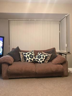 Large two seater settee