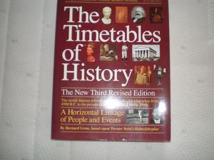 """The Timetables of History"" book, by Bernard Grun"
