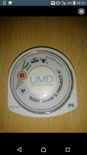 Tony Hawk's Project 8 PSP game