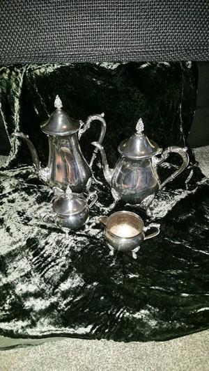 Viners silver plate tea set