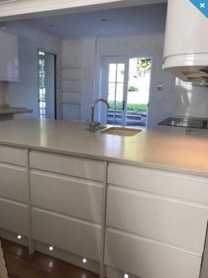 White Base and Wall Kitchen Units