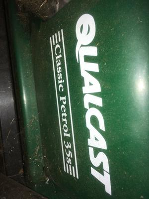 Working Qualcast Classic Petrol 35s Lawnmower - Must go ASAP!