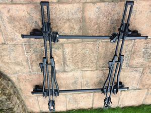 Bike Carrier x 2, and roof bars