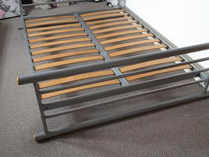 Metal double bed frame - FREE!