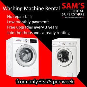 Washing Machine From - £3.77