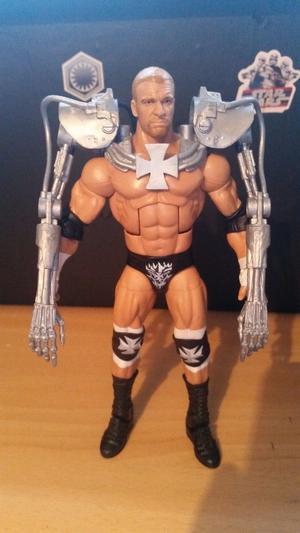 Wrestling wrestler figure elite mattel Triple H