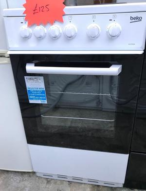 Beko 50cm electric cooker free delivery