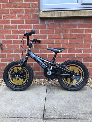 Boys Batman Bike