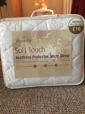 Brand new dunelm mattress protector