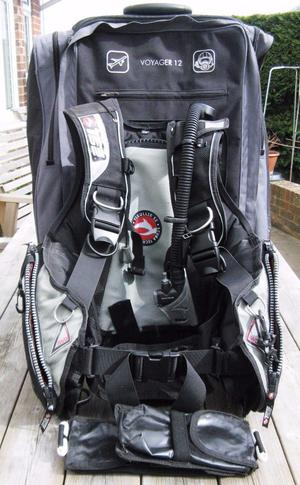 Diving Equipment: Bag, BCD, Boots/Hood, Wet-suit, Weights & Clips + 8 T-Shirts