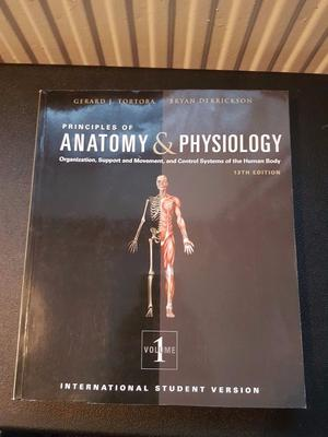 Excelente Tortora Anatomy And Physiology 13th Edition Test Bank Free ...