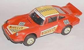 scalextric cars 911 porsche x 2