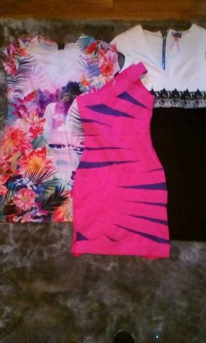 3 x lipsy dresses good condition