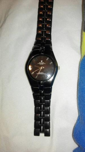 Black Rolex Watch