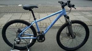 Blue carrera vulcan mens mountain bike
