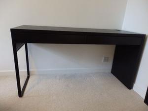 Desk + Lamp + Chair