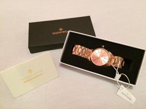 Genuine Timothy Stone Charme Watch in Rose Gold