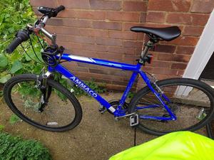 bicycle, hybrid bike
