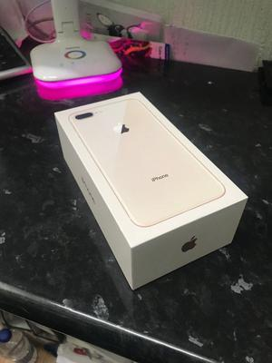 APPLE IPHONE 8 PLUS GOLD 64GB BRANDNEW WILL ALL GENUINE ACCESSORIES